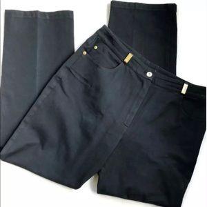 St. John Sport trouser dress pants size 10 stretch